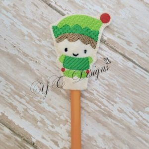Cutie Elf pencil Topper