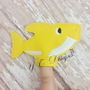 Shark Family Baby finger puppet