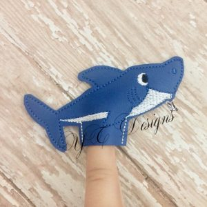 Shark Family Daddy finger puppet