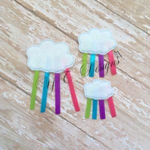 Raincloud 3D feltie
