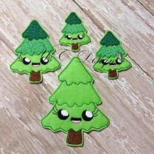 Glamping camping pine tree