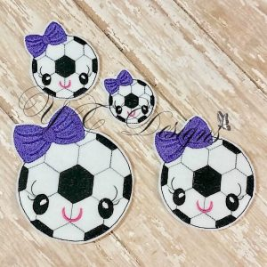 Kawaii Soccer Ball Girl