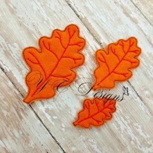 Leaf oak 3 D