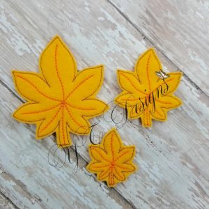 Leaf Maple 3 D