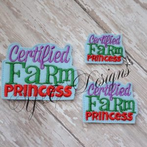 Farm Princess Certified