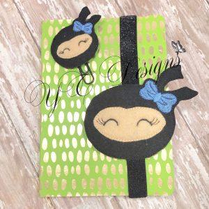 Ninja Girl Head Book band