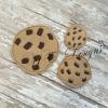 Chocolate Chip Cookie feltie