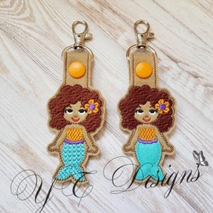Mermaid Natasha Key Fob