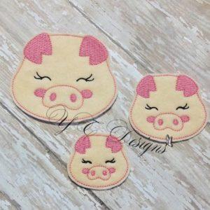Farm Sweety Pig Head