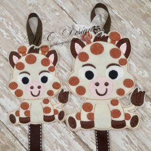Giraffe Baby Klippie Keeper