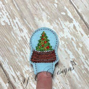 Globe Snow Christmas Tree