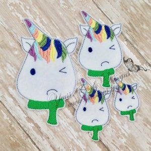 Unicorn Grumpy head