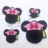 mousey Minnie Grad Hat