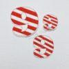 Number stripes 9 nine