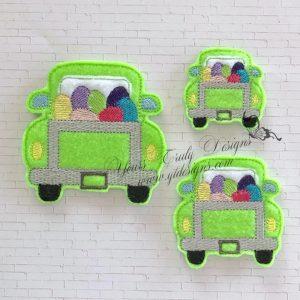 Truck Rear Eggs Feltie